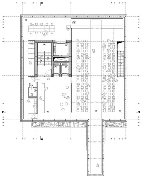 fashion show floor plan gallery of tokyo fashion museum proposal mus architects 27