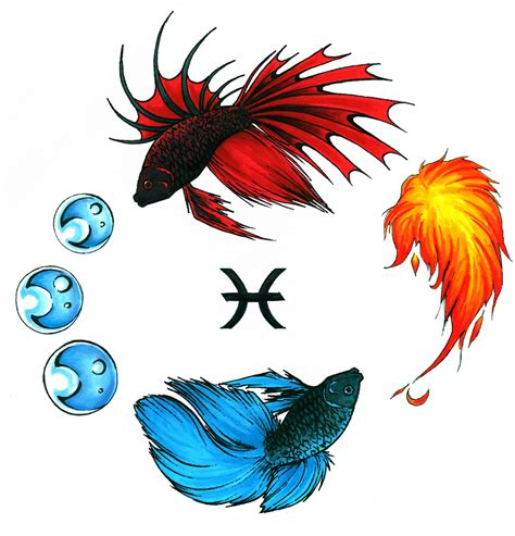 pisces tattoos and designs page 73