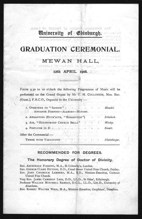 graduation ceremony program template graduation ceremony program template related keywords
