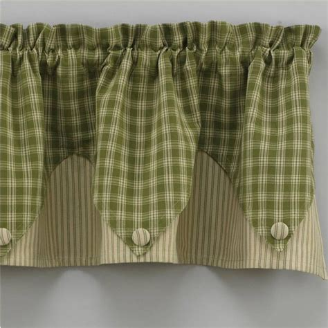 green valance curtains curtain valance patterns green window treatment