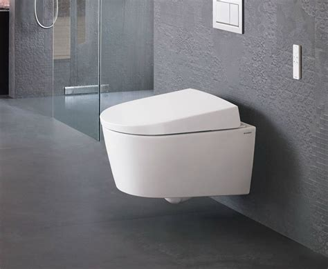 bidet dusche wall hung toilet with bidet aquaclean sela by geberit