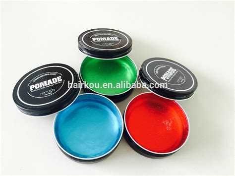 Pomade Cook Grease label black packaging free hair styling