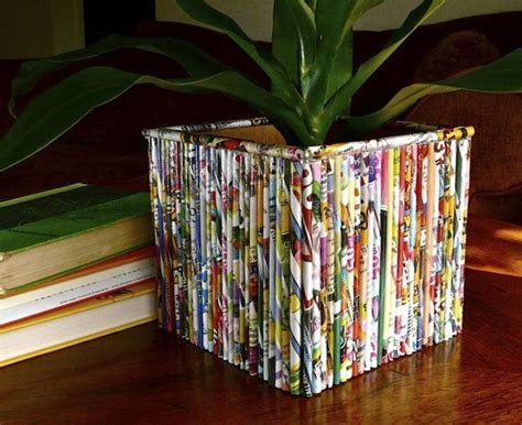 Paper From Magazines - 35 diy creative things that can be done with your