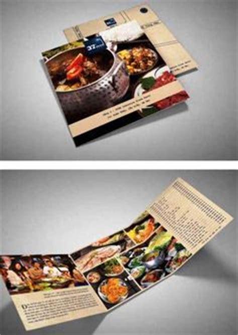 desain brosur restoran desain brosur restoran contoh flyer menu cafe dan