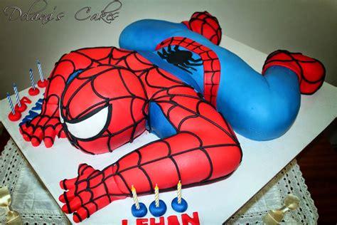 delana s cakes 3d spiderman cake