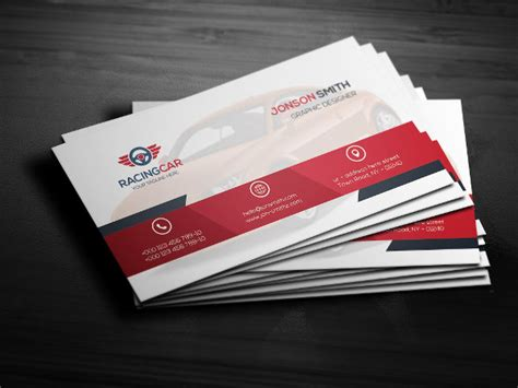 racing card templates 23 sports business card templates free premium