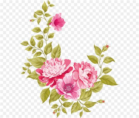 Wedding Card Png by Wedding Invitation Pink Flowers Greeting Card Flowers