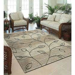 Indoor Outdoor Kitchen Rugs Orian Stonebrook Area Indoor Outdoor Rug Driftwood Walmart