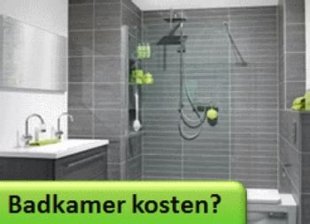nieuwe badkamer zonder bad wat kost een badkamer verbouwkosten