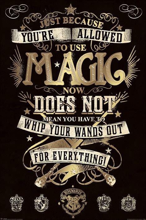 Plakat Harry Potter by 朗 Harry Potter Magic P 243 Ster L 225 Mina Compra En