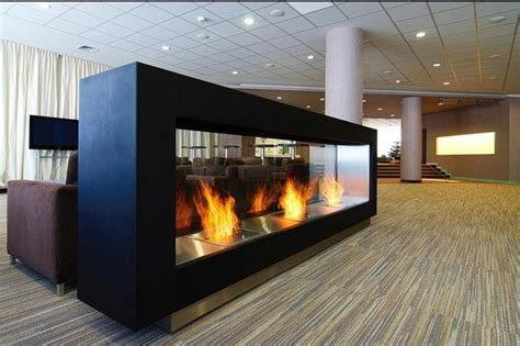 freestanding ventless fireplace magnus