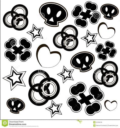 imagenes en blanco y negro de corazones modelo blanco y negro de la moda ilustraci 243 n del vector