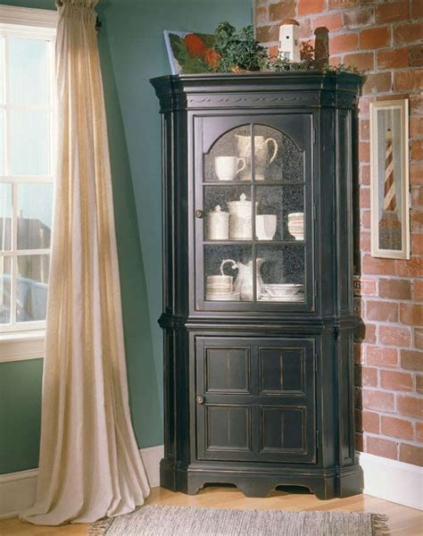 corner cabinets for dining room amish corner china cabinet cabinets matttroy