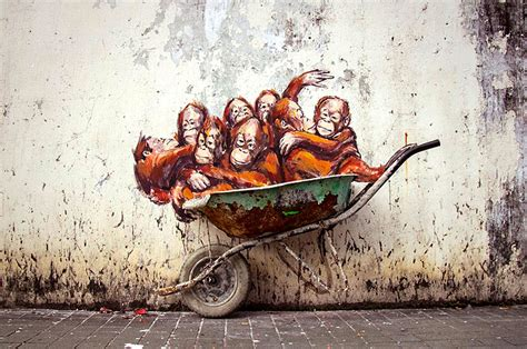 kisah artist melayu vereran 10 places to see street art in malaysia malaysia asia