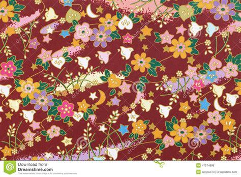japanese pattern origami paper stock photo image