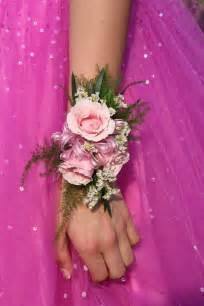 prom corsage petals paper boutique dances
