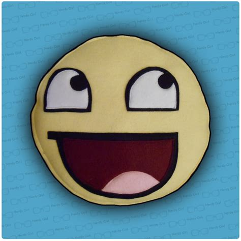 Awesome Meme Face - awesome face meme pillow by n3rdygirl on deviantart