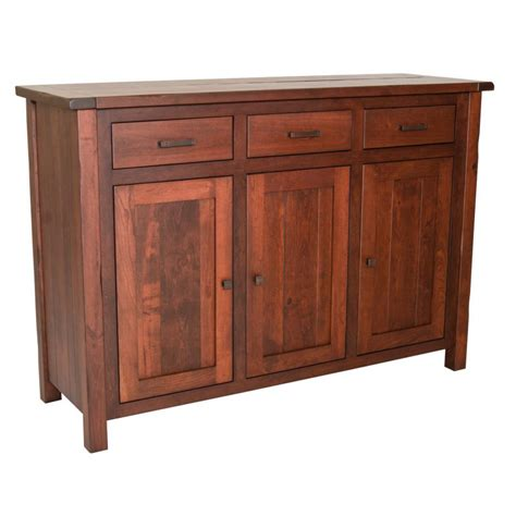 buffet collection adele collection buffet with plank top amish crafted furniture