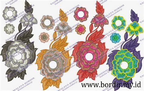Untuk Bordir Contoh Gambar Motif Bunga Kecil Untuk Bordir 1