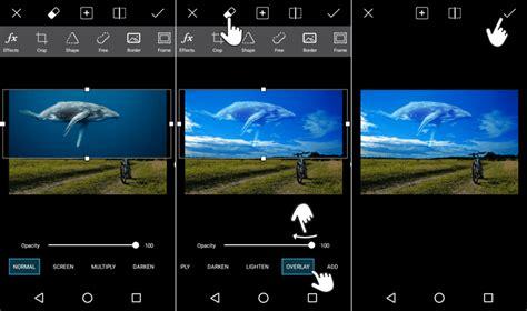 cara edit foto overlays di picsart cara edit foto ikan paus di langit dengan aplikasi picsart