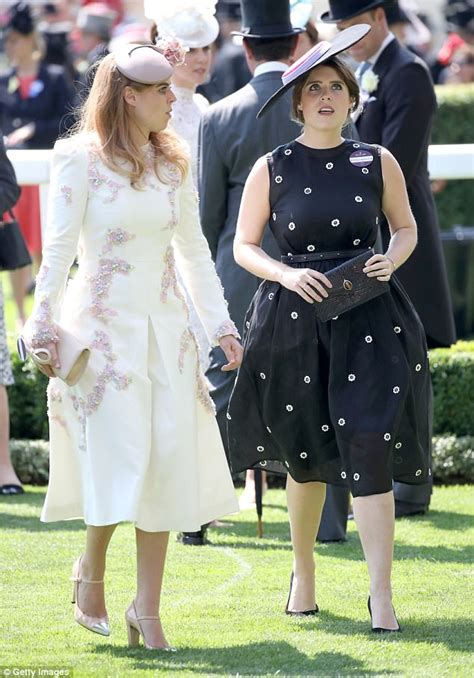 Royal Dress Balotelly Dusty Pink Dna royal ascot princess eugenie misses in black dress daily mail