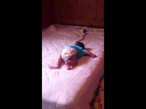 baby falls off bed baby falling off the bed youtube