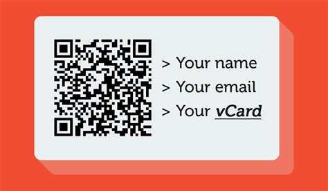 how to make qr code for business card should you print a vcf qr on your business card uqr me