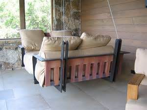 dishfunctional designs this ain t yer grandma s porch swing diy swing beds amp chairs