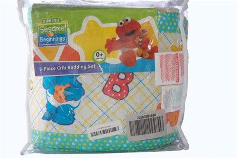 sesame crib bedding sets sesame bedding sets sesame beginnings 3 crib