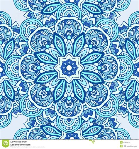 seamless tribal pattern tribal ethnic seamless pattern abstract background stock