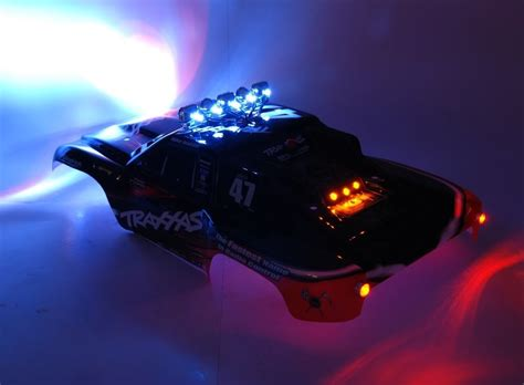 01 Traxxas Slash Deluxe Led Light Set Rc Lighthouse Traxxas Led Light Bar