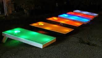 Light Up Corn Board Hole Sets Pin By Katie Pegum On Corn Hole Game Pinterest