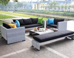 outdoor sofa sale grey finish modern 5pc outdoor sofa set
