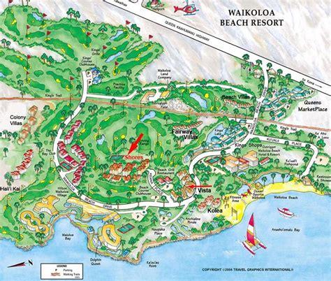 waikoloa resort map hawaii waikoloa resort map kohala sun