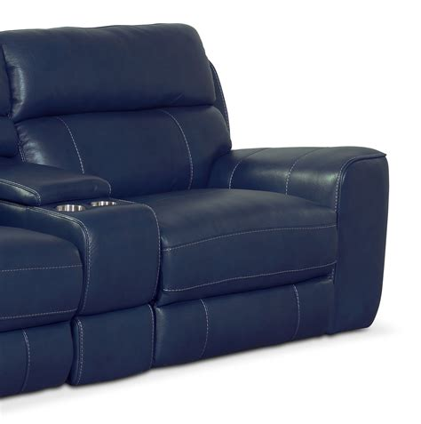 blue reclining sofa and loveseat blue reclining sofa pulsar dual reclining sofa and