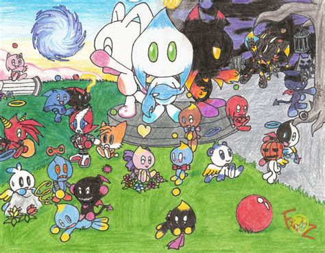 Sonic Chao Garden by The New Chao Garden By Flamesofzero On Deviantart
