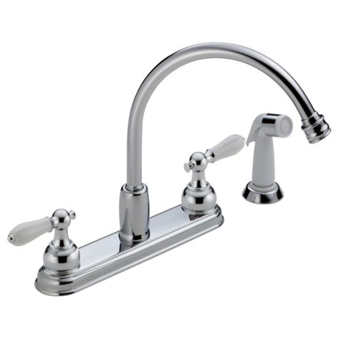 discontinued delta kitchen faucets two handle kitchen faucet 2467 212 delta faucet