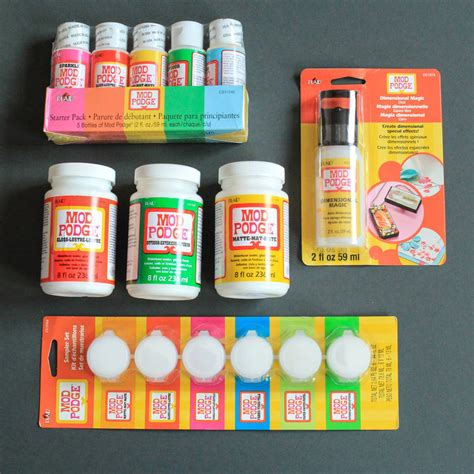 Decoupage Glue - mod podge crafting decoupage glue by berylune