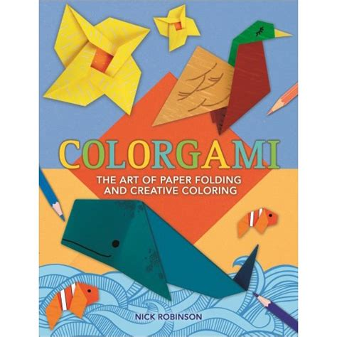 Origami Paper Target - colorgami the of paper folding and creative coloring