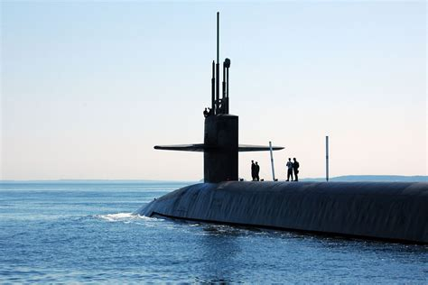 electric boat missile tubes ssbn fleet ballistic missile submarine military
