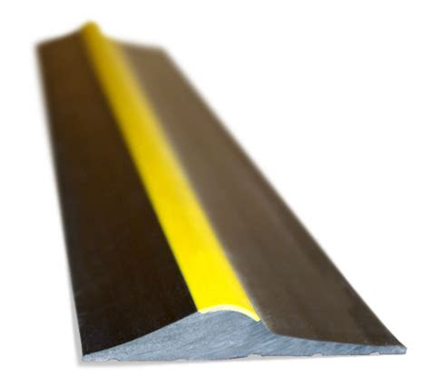 Rubber Floor Seals For Garage Doors by Rubber Floor Seal Kit Black Yellow Stripe Garage Door