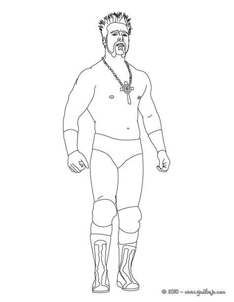imagenes para colorear wwe dibujos para colorear el luchador sheamus es hellokids com