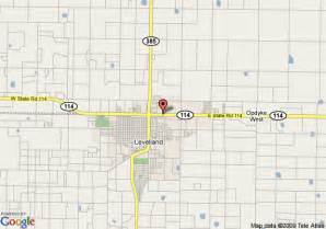 map of inn express hotel suites levelland levelland