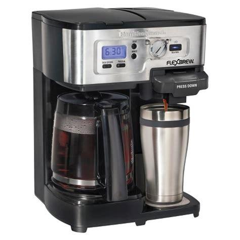 Hamilton Beach FlexBrew® 2 Way Coffee Maker  49983 : Target