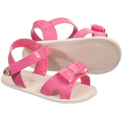 baby sandals mayoral newborn baby pink pre walker sandals
