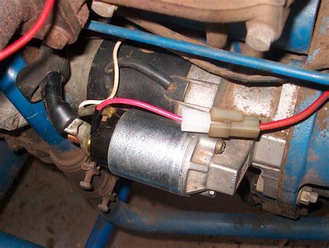 ford   battery starter solenoid key switch    starter key switch