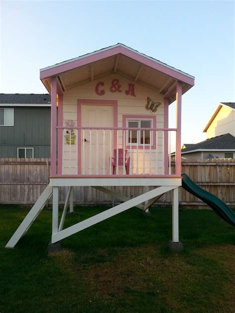 playhouse design great children s wooden playhouse ideas owatrol direct