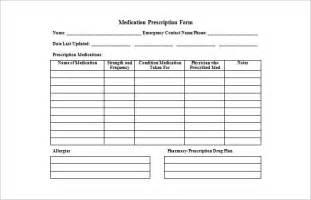 prescription template doctor prescription templates free premium templates