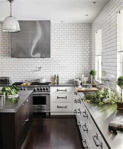 stainless steel countertops design ideas