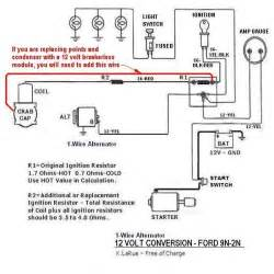 445a ford tractor alternator wiring diagram ford auto